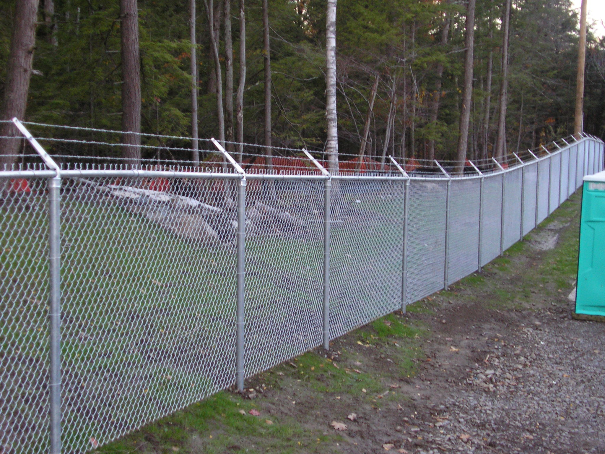 Security Chain Link Fence Installations Near Burlington  Vt