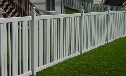 Picket Fence Installation Near Burlington Vt